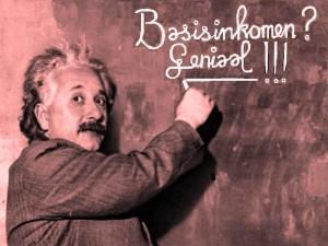 Basisinkomen volgens Einstein